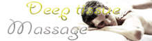 Deep Tissue Massage- male and female massage in London -  for men and women