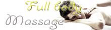 Full Body Massage- male and female massage in London -  for men and women