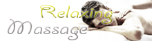 Relaxing Massage- male and female massage in London -  for men and women